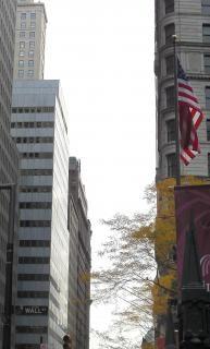 Уолл-стрит нью-йорке
