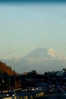 シアトルのトラフィック、山