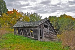農村部の農場、鶏小屋