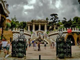 バルセロナ、広場