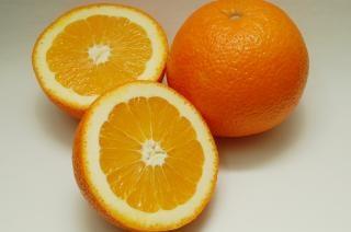 スライスオレンジ、オレンジ