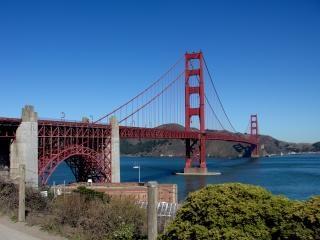 カリフォルニア州サンフランシスコ北部の有名な