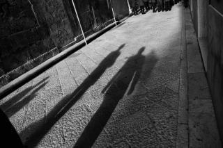 バンドの影
