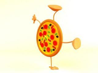 Пицца, сыр моцарелла