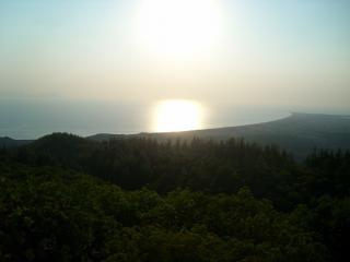 トルコ、ビーチからの写真