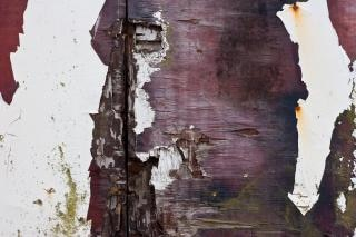 不潔な木材表面
