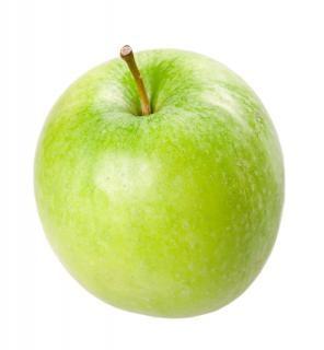 Зеленое яблоко, плоды