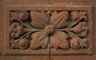 Декоративный цветочный кирпич