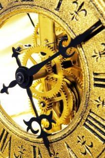 古い時計の圧力