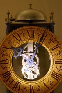 古い時計の秒