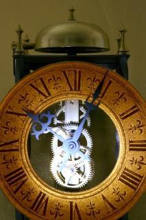 古い時計のポインタ