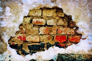 Стены коричневый
