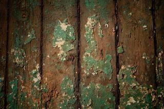 木グランジ汚れた上に砂のような塗料