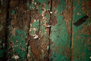 木材木材でザラザラ塗装