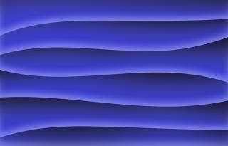 Синие волны обои