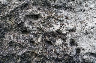 石のテクスチャの背景風化し