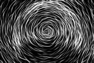 Спиннинг эскиз абстрактной эскиз