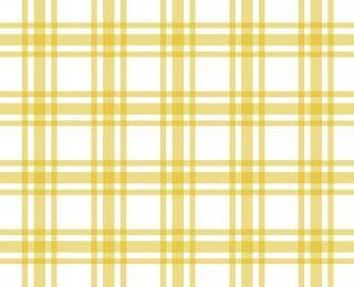 黄色と白のテーブルクロスパターン