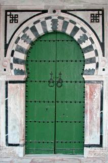 チュニジアのドア