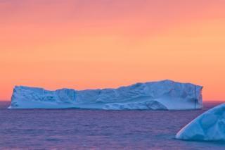 氷山の美しさ