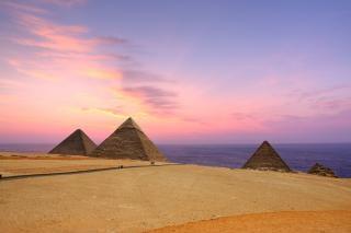 ピラミッドアフリカ
