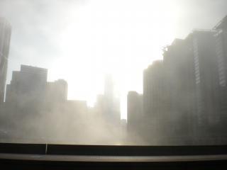 スカイライン霧
