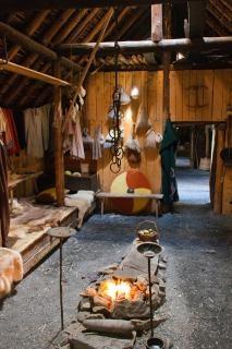 ヴァイキングのロングハウス