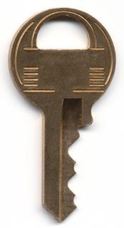 金属製のキー