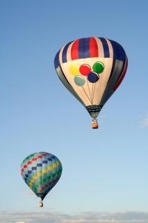 熱気球の絵