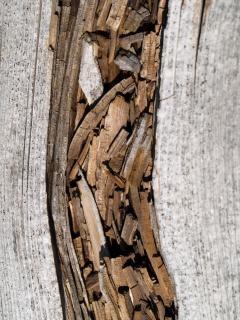 Старинный деревянный