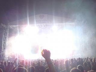 Концерт толпа весело толпы