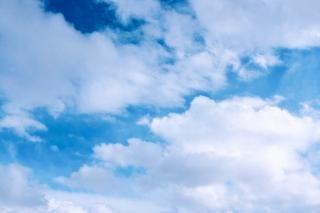 Небо день