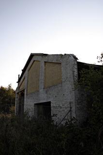 古い建物、窓
