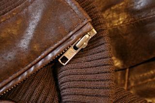 織り込みジッパー、
