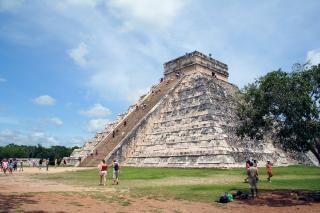 Майя храм, мексика, майя