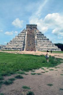 Майя храм, мексика
