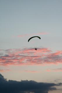 パラグライダー、日