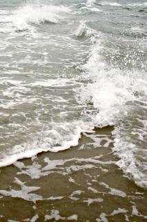 Брызги моря, вода