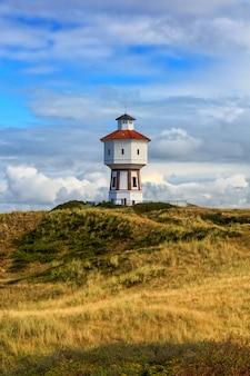 ドイツ、ニーダーザクセン州ランゲオーク島の灯台