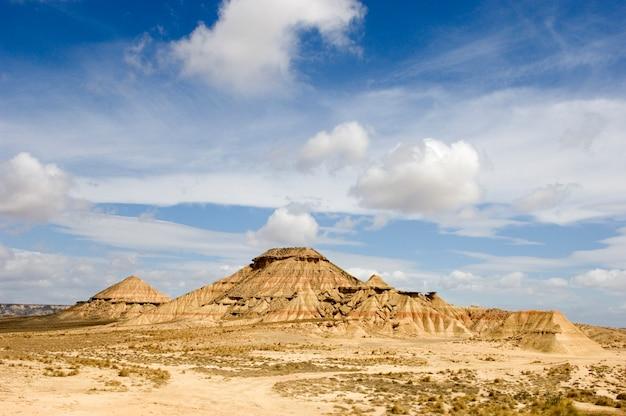 Фотография сделана в пустыне барденас реалес