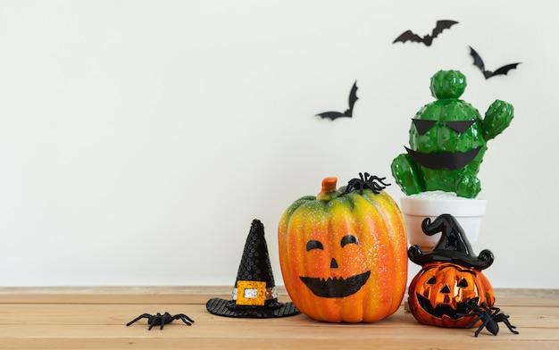Изображение украшений счастливый день хэллоуин фон праздник концепции.
