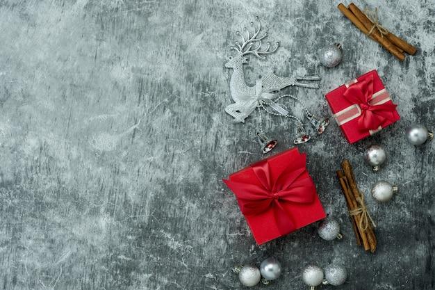 メリークリスマスの装飾&新年あけましておめでとうございます装飾コンセプト。