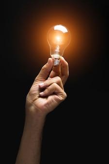 照明ランプ付き手