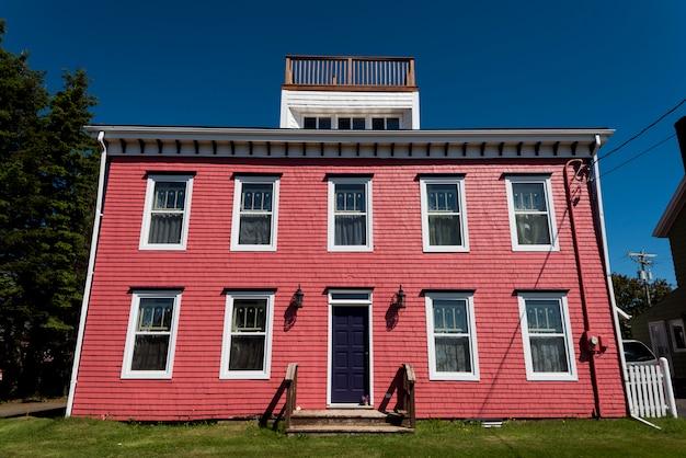Фасад здания, виктория, остров принца эдуарда, канада