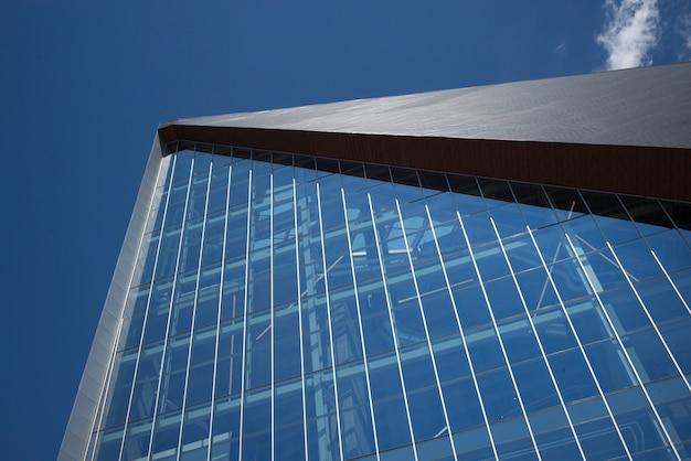 米国銀行スタジアム、ミネアポリス、ヘネピン郡、ミネソタ、米国の低い角度のビュー