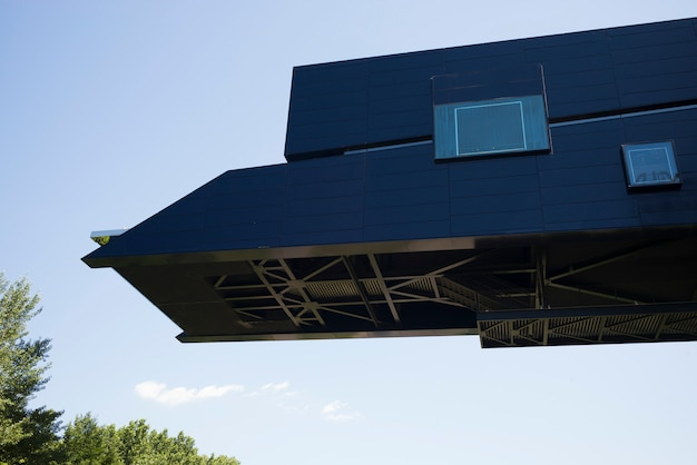 空、ミネアポリス、ヘネピン郡、ミネソタ、米国に対する建物の高所