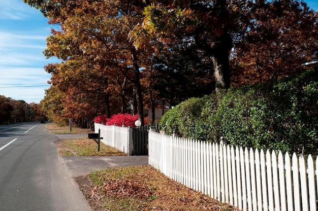 Пикетный забор в восточном хэмптоне