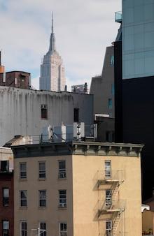 マンハッタン、ニューヨーク、アメリカ合衆国のスカイライン