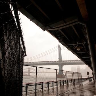 ニューヨーク、マンハッタンのマンハッタン橋