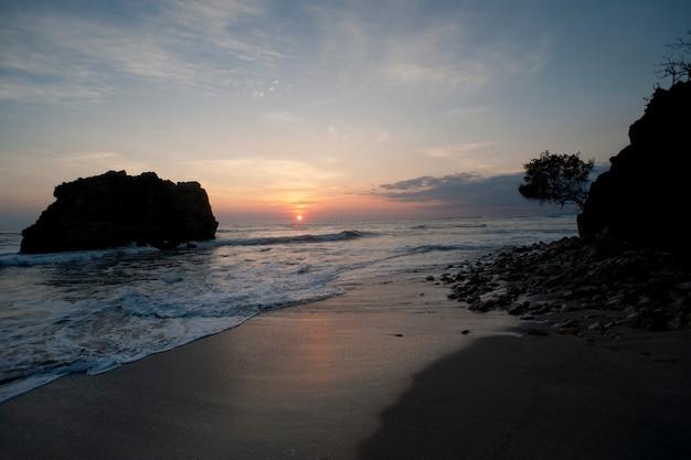 サンホセコスタリカのニコヤ半島の海景